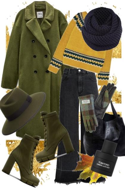 Fall Walk- Combinaciónde moda