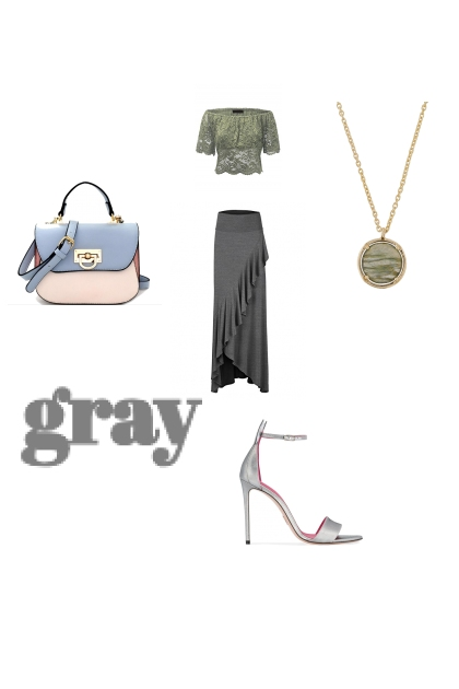 gray- Fashion set