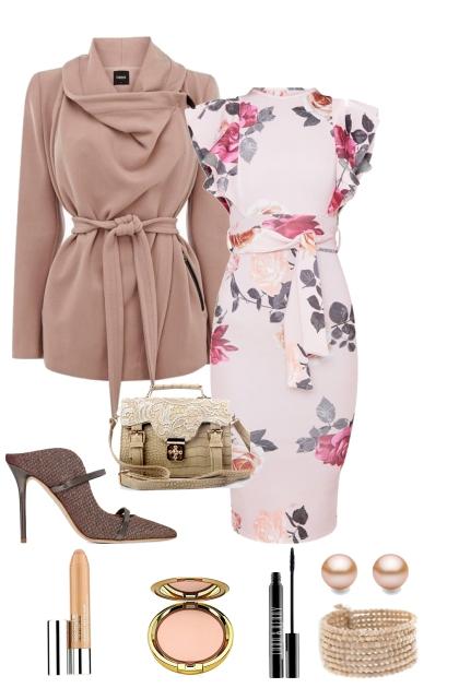 floral glam- Fashion set