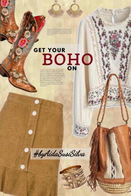 I love boho style!