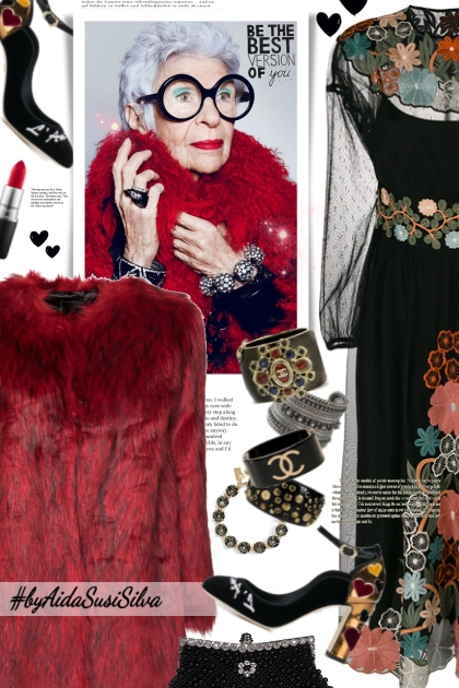 Iris Apfel: She's unique!