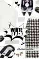 Love black and white!