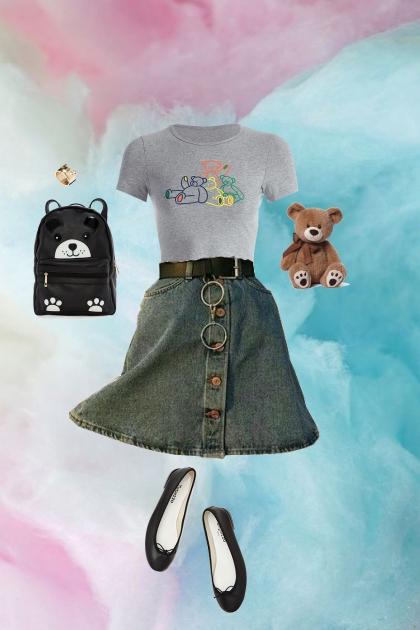 Beary cute- Fashion set
