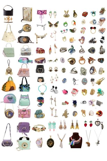 some unique and fun accessories I love