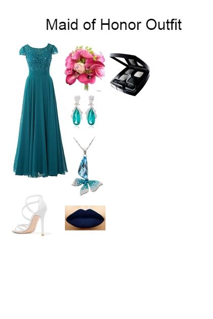 Maid of Honor Outfit- Kreacja