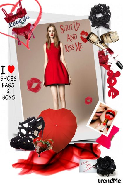 Take me out on Valentine´s day- Fashion set