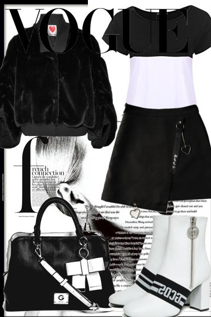 Черно белое