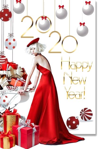 Открытка с Новым годом!!!