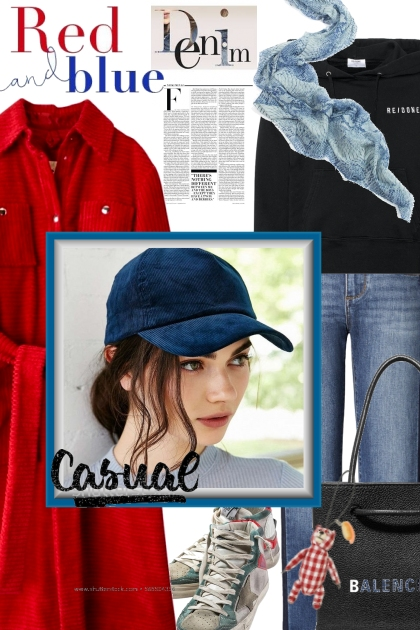 Red and Blue: Denim