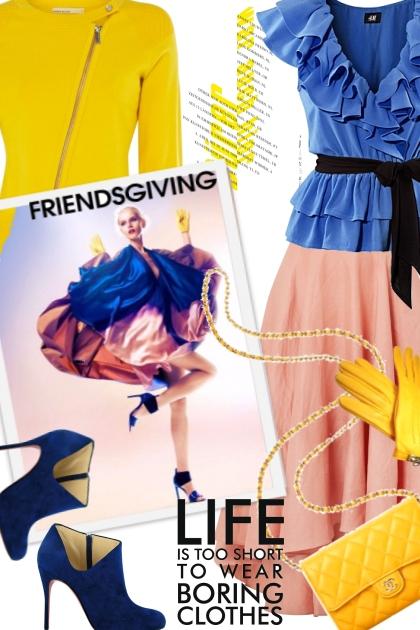 Friendsgiving: Don't Be Boring