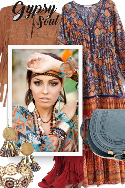 Free Gypsy Soul- Fashion set