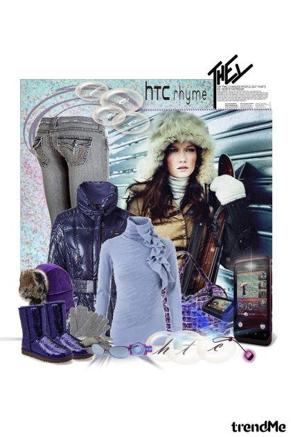 This winter fun is - HTC!