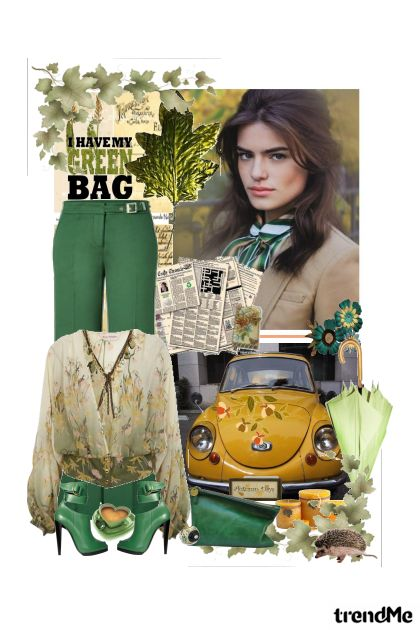 I have my green bag!