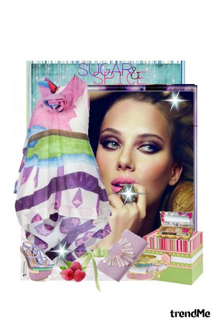 Just like sugar! from collection LJETO 2011. by Monika