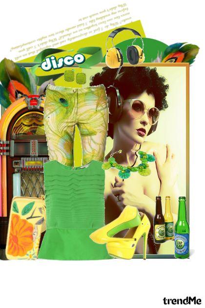 Retro disco queen!