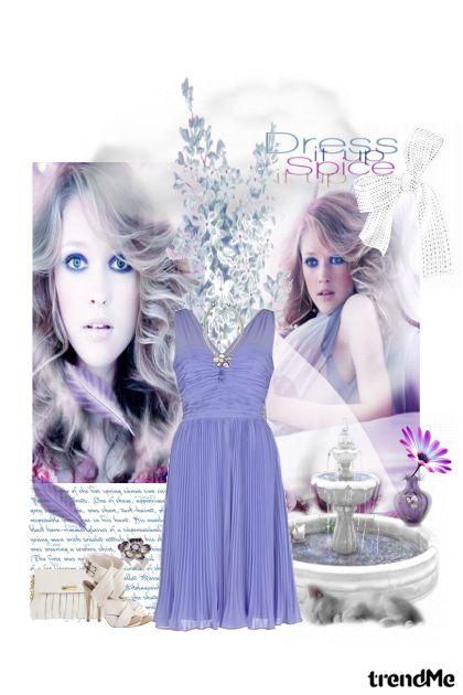Lavender dress!