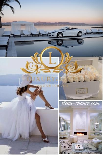 белая роскошь- Модное сочетание