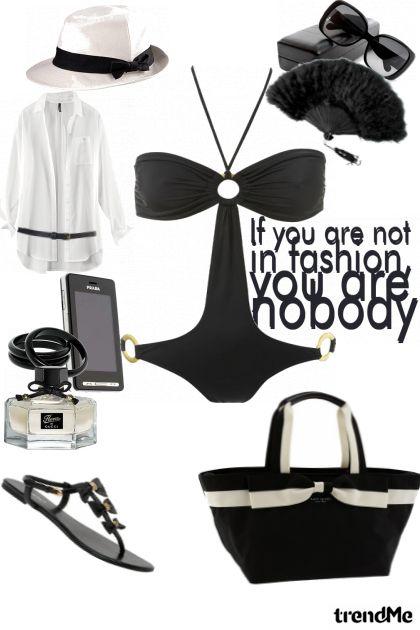 black beach girl