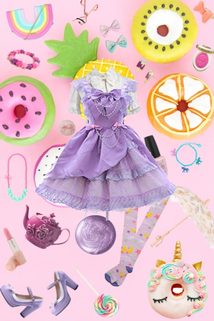 Sweet Treat Lolita- Fashion set
