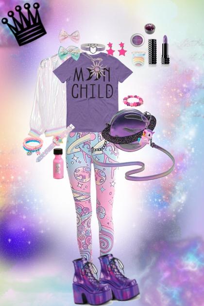Galaxy Queen- Fashion set
