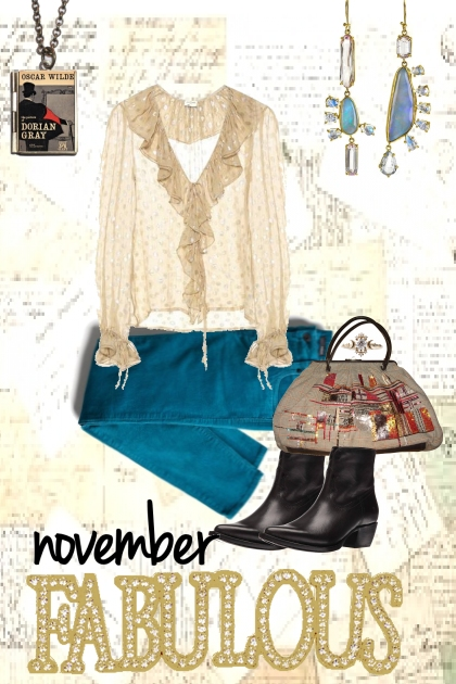 NOVEMBER FABULOUS- Fashion set
