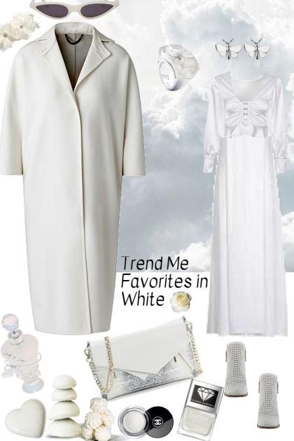 TREND ME FAVORITES IN WHITE