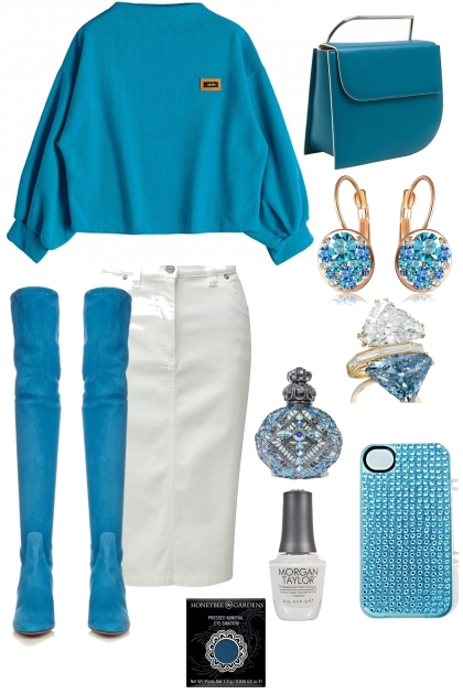 FLIRTING WITH TURQUOISE