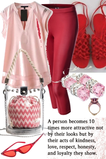 RED AND PINK