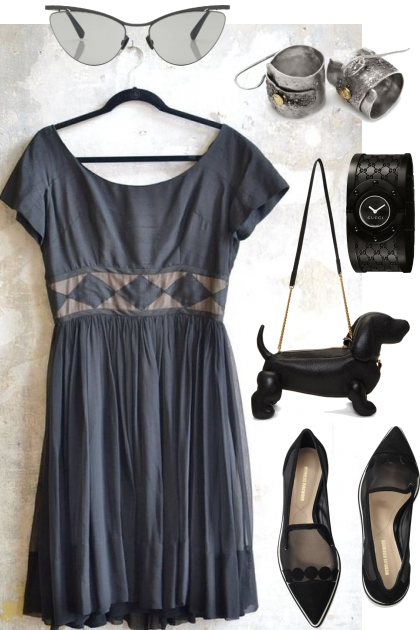 SUMMER DRESS WITH FLATS