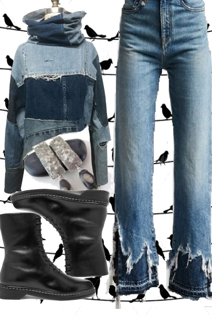 DENIM FEM RUGGED