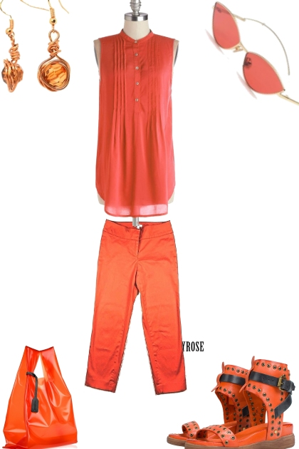 set on orange