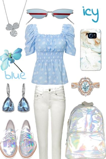 BLUE PRINT TREND ME TOP