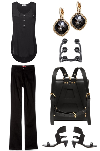 CASUAL BLACK IN SUMMER