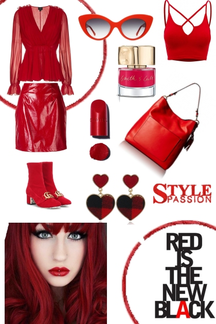 TREND ME FAVORITES IN RED