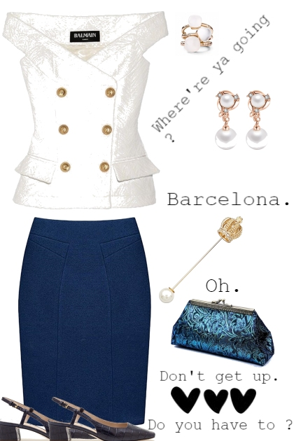 BARCELONA, STAY A MINUTE
