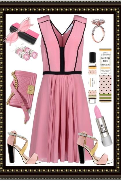 ~.~.PINK SUMMER DRESS~.~.