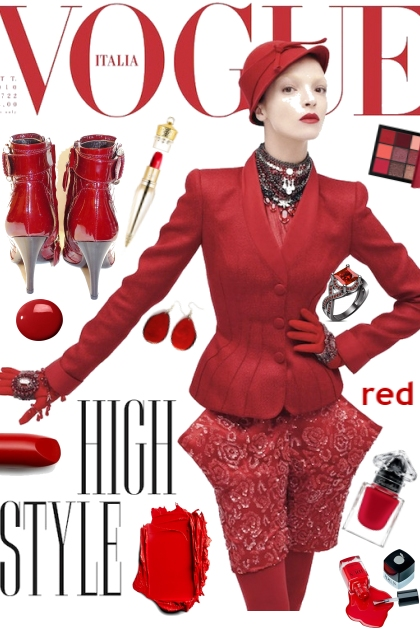 VOGUE IN RED
