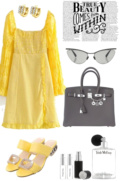 YELLOW TREND ME DRESS