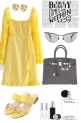 YELLOW TREND ME DRESS