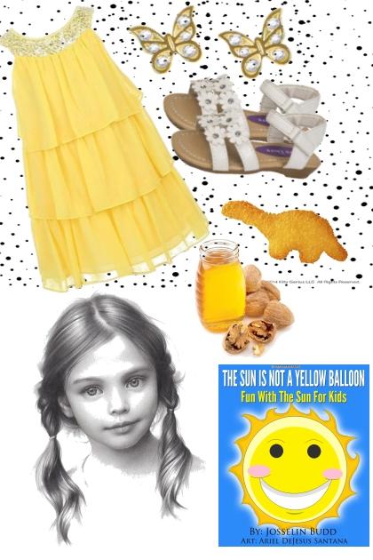 SUNNY HONEY GIRL'S DRESS