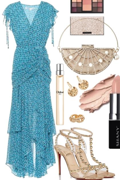 ((BLUE DRESS))