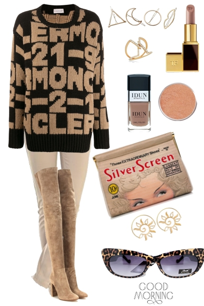 SWEATER ON TREND ME : GOOD MORNING