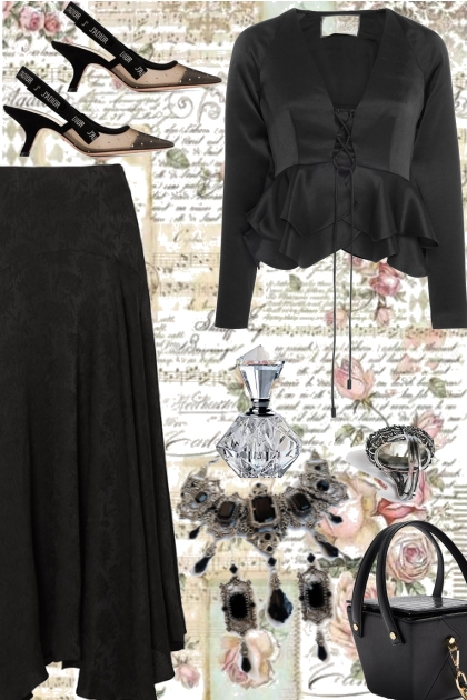 ~ BLACK IS THE NEW...BLACK