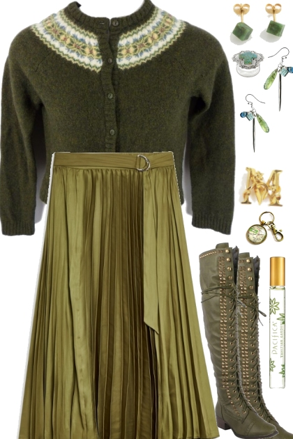 GRASSY WINTER OUTFIT