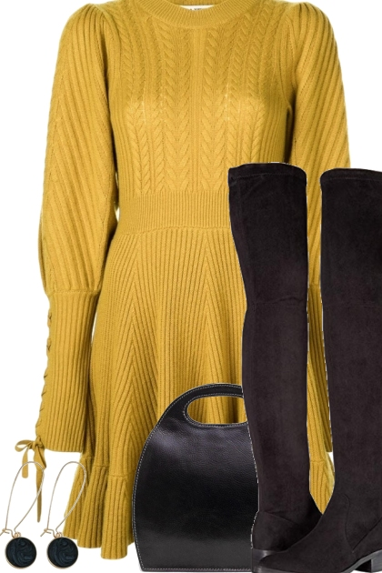 SWEATER DRESS ON TREND ME