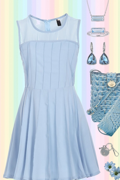 LIGHT BLUE MONOCHROME