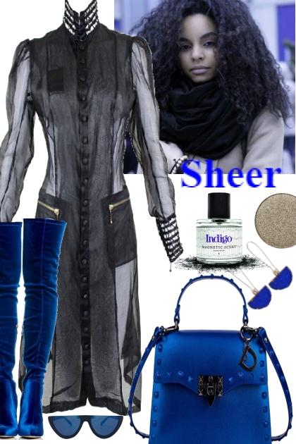 SHEER COAT,:
