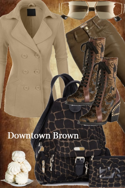 ### DOWNTOWN BROWN ###