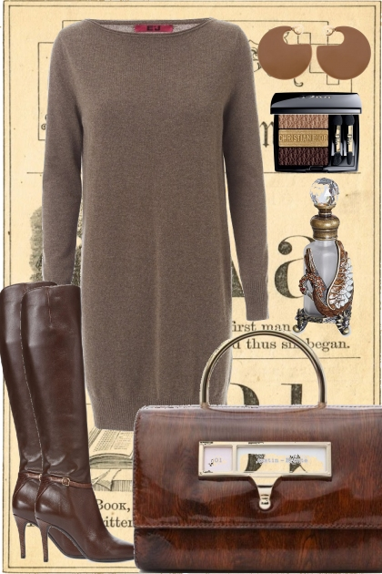 SWEATER DRESS *