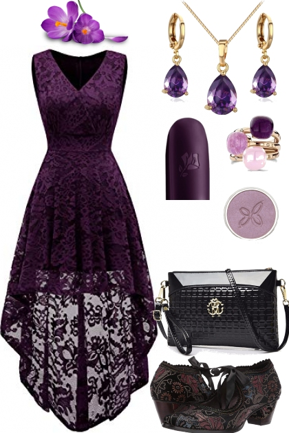 PURPLE TREND ME DRESS 9/29/19